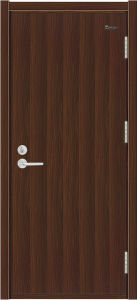 Wood Fire Door with Flexible Hinge (MFM-7)