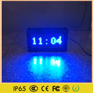 Indoor Outdoor Programmable LED Digital Clock Sign pictures & photos