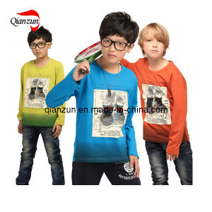 2013 Child Custom Long-Sleeved T-Shirt (ZJ057) pictures & photos