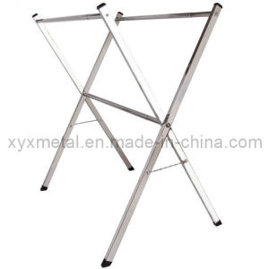 X Style Collapsible Stainless Steel Double Clothes Rails pictures & photos
