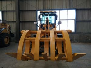 Hot Sale 3ton Bucket Loading Front End Wheel Loader Zl936 pictures & photos