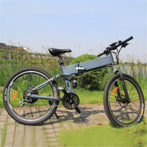 26inch Folding Mountain Electric Bike/ Electric Bicycle/ Ebike pictures & photos