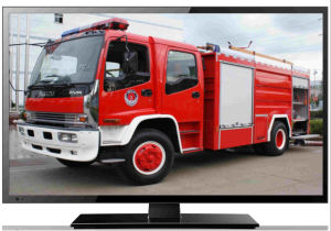 12 Volts Car TFT LED TV Built in DVB-T Tuner pictures & photos