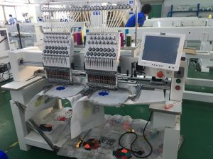 2 Head High Speed Melco Embroidery Machine for Sale Wy1502CH pictures & photos