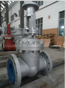 Dn200 Pn64 Wcb Worm Operated Gate Valve pictures & photos