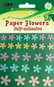 Paper Flower Sticker DIY Kit (FST-0304)