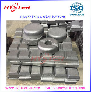 63HRC Domite White Iron Chocky Bar for Bucket Protection and Repairs pictures & photos