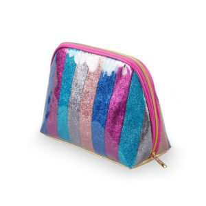 Colorful Rainbow Design Cosmetic Bag Fashion Makeup Bag pictures & photos