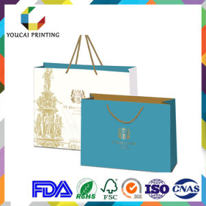 Fancy Rectangular Jewelry Bag with Gold Pattern Printing pictures & photos