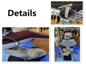 Aluminium Alloy Dental Chair Unit with New LED Sensor Lamp pictures & photos
