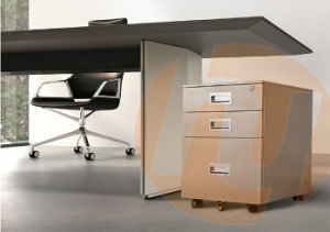 Mobile Pedestal Filing Cabinet with Three Drawers pictures & photos
