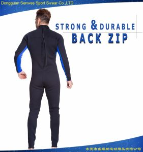 3mm Cold-Proof Diving Surfing Wetsuit with Knee Pad pictures & photos