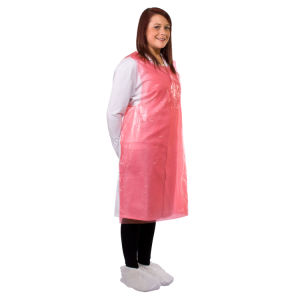 New Materil PE Apron, Smooth Surface Disposable Plastic Aprons pictures & photos