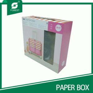 Custom Paper Gift Box with Plastic Handle (FOREST PACKING 010) pictures & photos