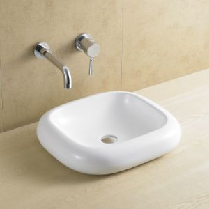 Rectangular Bathroom Basin with Round Edge 8069 pictures & photos