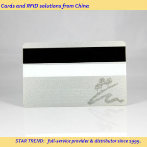 Silver Printing PVC Magnetic Stripe Card for VIP Member pictures & photos