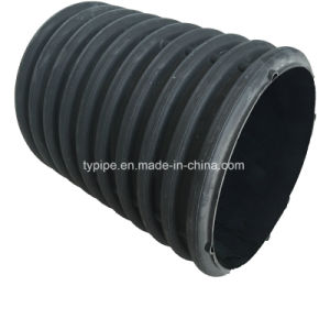 Economic and Reliable Large Diamter Double-Wall Corrugated Pipes for Drainage pictures & photos