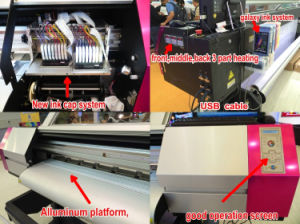 Galaxy Advertising Banner Eco Solvent Printer with Epson Dx5 Head pictures & photos