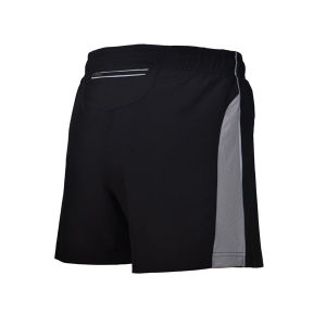 Men Mesh Insert Running Shorts with Reflective Tape pictures & photos
