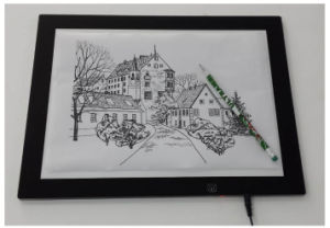 Ultra Slim Animation Tracing LED Drawing Board Light Box pictures & photos
