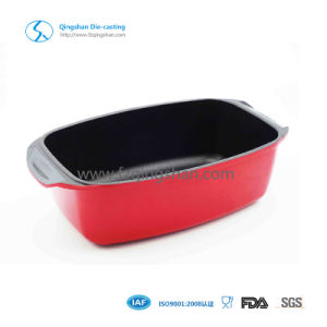 Customerized Aluminum Alloy Oven Die Casting Fish&Roaster Pan pictures & photos