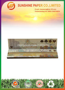 12.5GSM Brown Color Smoking Rolling Paper with King Slim Size pictures & photos
