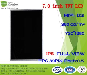 7.0 Inch IPS 720X1280 Mipi 39pin 350CD/M2; TFT LCD Display pictures & photos