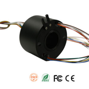 Perfect Through Hole Slip Rings with Inner Hole 12.7mm for Your Rotating System pictures & photos