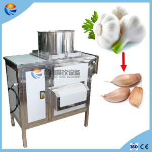 Ce Approved Industrial Automatic Garlic Clove Bulbs Extruding Squeeze Machine pictures & photos