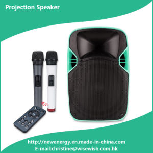 Professional Plastic LED Projection Speaker - Projector