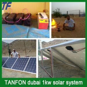 Solar Panel Home Inverter Controller with 30A-100A MPPT Controller in One Box pictures & photos