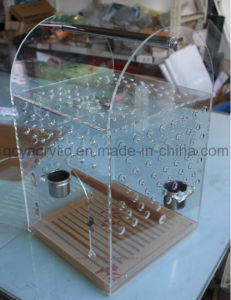 Acrylic Bird House Big Bird Cage Pet House Parrot Cage pictures & photos