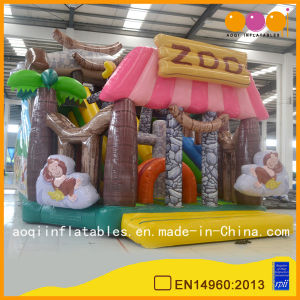 Commercial Zoo Inflatable Big Fun City Inflatable Playground Bounce Funcity (AQ01630) pictures & photos