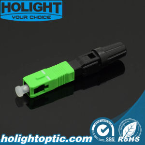 Field Assembly Fast Connector Sc/APC Type with Pre-Polished Ferrule pictures & photos