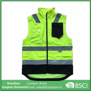Breathable and Waterproof Oxford Reflective Vest pictures & photos