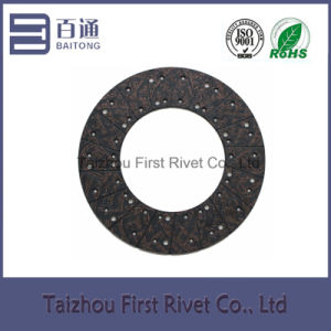Model Fst806 Copper Series Medium-Alkali (Alkali-free) Clutch Facing for Trucks pictures & photos