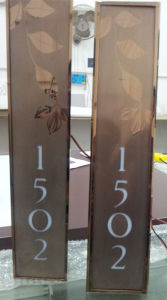 Hotel Directory Guide Door Room Number Sign Doorplates pictures & photos