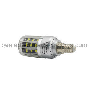 LED Corn Light E14 5W Cool White Silver Color Body LED Bulb Lamp pictures & photos