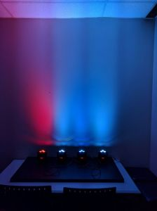 Remote RGBW LED Uplight for Party pictures & photos