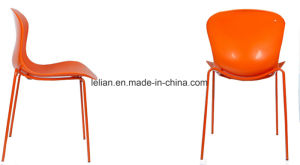 Wink Plastic Armless Stacking Guest Chair with Painted Legs (LL-0051) pictures & photos