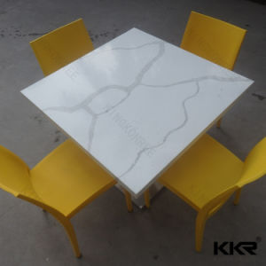Custom Sizes Stone Top Dining Tables for Restaurant Furniture pictures & photos