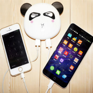4500mAh Panda Face Mobile Power Charger Power Bank Phone Accessories pictures & photos