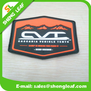 3D Custom Trade Mark Patch One Side Print with Hook & Loop pictures & photos