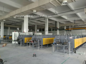 Continuous Mesh Belt Hardening Furnace for Spring Steel Band pictures & photos
