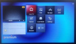 Ipremium I7 IPTV Box Middleware Stalker DVB-S2 Satellite Receiver pictures & photos