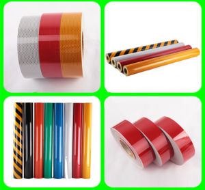 Reflective Tape for Construction of Temporary Traffic Signs pictures & photos