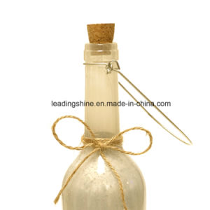 LED Decorative Bottles Lights with Cork and Starry String Lights Glass Wine Bottle with Hang Ring pictures & photos