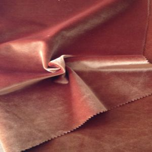 Crushed Velvet / 100% Silk Velvet Fabric 160-200GSM for Garments and Sofa Fabric pictures & photos