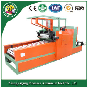 Rewinding and Cutting Machine for Household Aluminum Foil Rolls pictures & photos