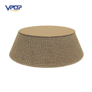 Pet Toy Corrugated Cat Scratcher Bed Bowl Shape Cardboard Cat Scratcher with Catnip pictures & photos